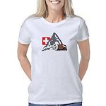 Mountain hike collage Women's Classic T-Shirt