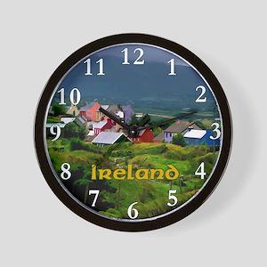 Ireland scenery painting Wall Clock