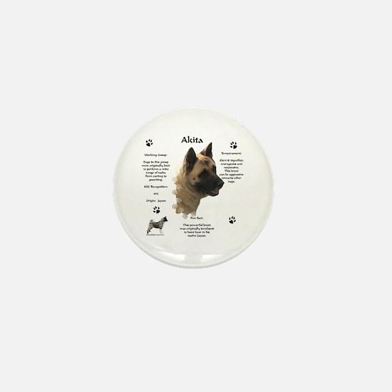 Akita 1 Mini Button