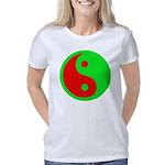 Alien Yin-Yang Women's Classic T-Shirt