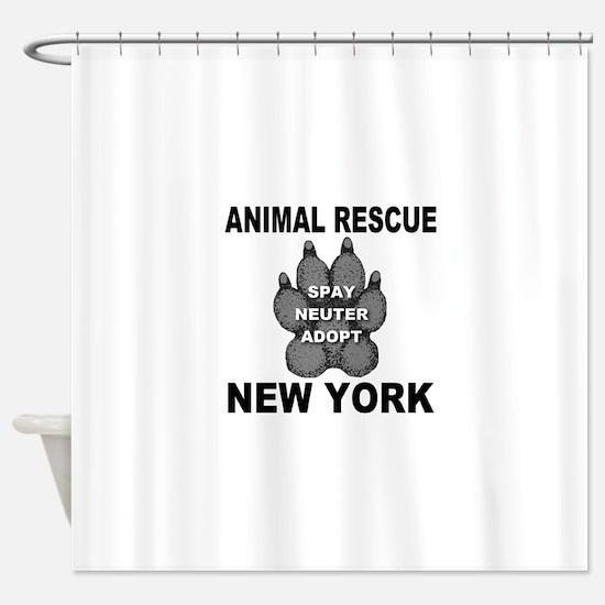 Cute Animal rescue Shower Curtain