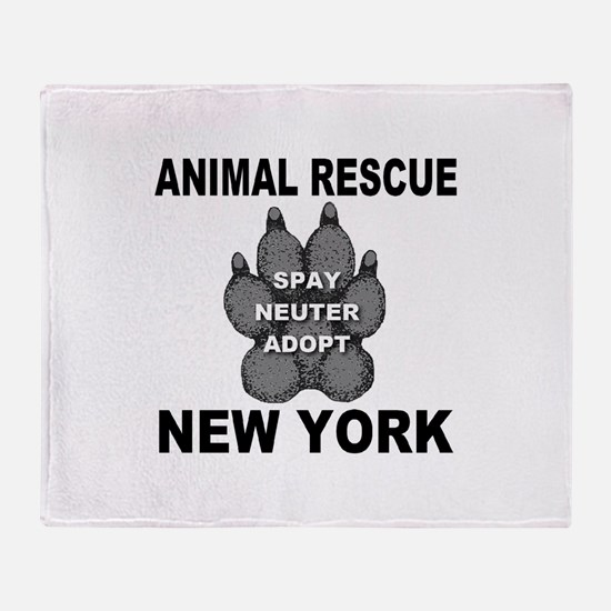Cool Horses rescue Throw Blanket