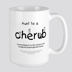 Aunt to a Cherub Large Mug