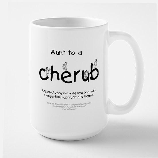 Aunt to a Cherub Large Mug