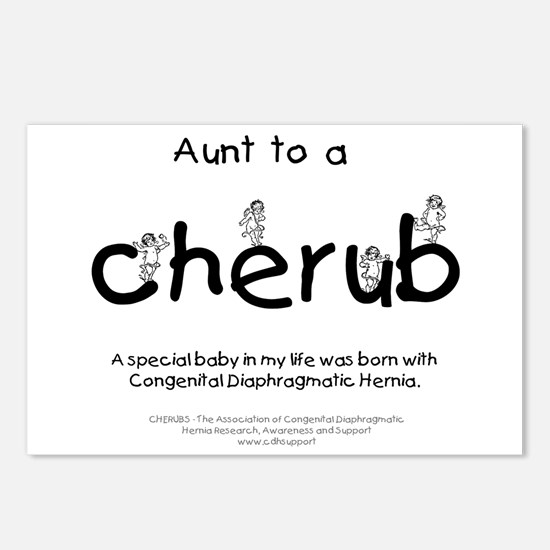 Aunt to a Cherub Postcards (Package of 8)