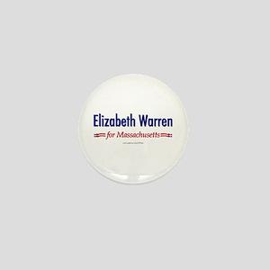 """Elizabeth Warren for MA"" Mini Button"