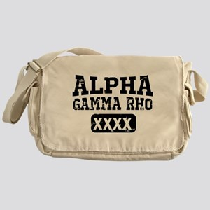 Alpha Gamma Rho Athletics Messenger Bag