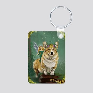The Fairy Steed Aluminum Photo Keychain