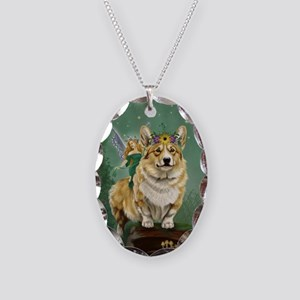 The Fairy Steed Necklace Oval Charm