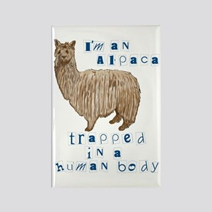 I'm an Alpaca Rectangle Magnet