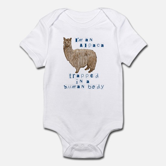 I'm an Alpaca Infant Creeper