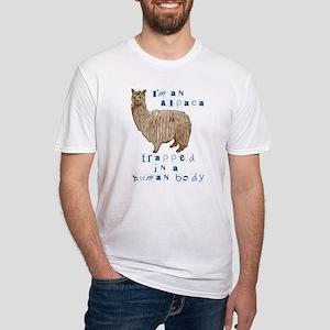 I'm an Alpaca Fitted T-Shirt