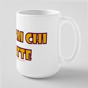 Mynagirl Tai Chi Latte Large Mug