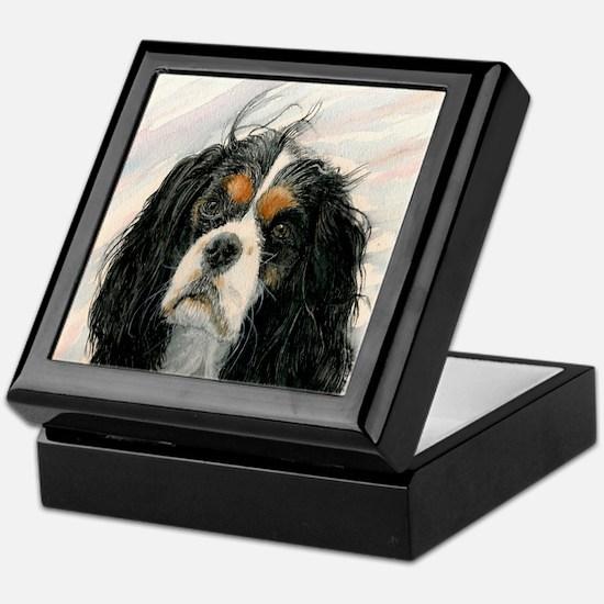 King Charles Cavalier Spaniel Keepsake Box