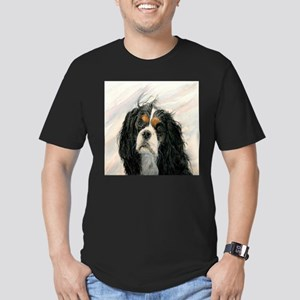 King Charles Cavalier Spaniel Men's Fitted T-Shirt