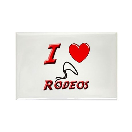 PRCA RODEO Rectangle Magnet
