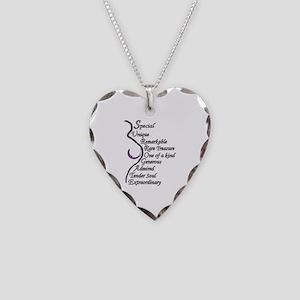 A Surrogate Is... Necklace Heart Charm
