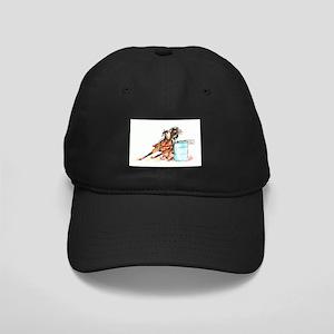 Barrel Racer Black Cap