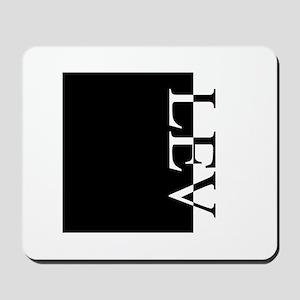 LEV Typography Mousepad