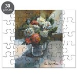 Flowers (#2) by Elsie Batzell Puzzle