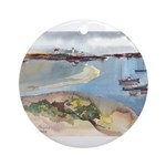 Cape Porpoise Ornament (Round)