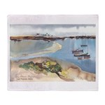 Cape Porpoise Throw Blanket