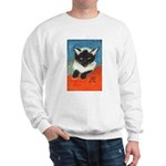 Siamese Kitten by Elsie Sweatshirt