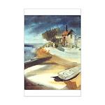 Rowboat by Elsie Batzell Mini Poster Print