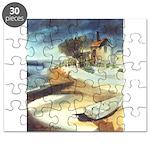 Rowboat by Elsie Batzell Puzzle