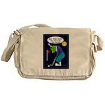 Be the ball (#2) Messenger Bag