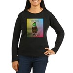 Born to Golf (#2) Women's Long Sleeve Dark T-Shirt