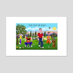 Joy Of Golf 1 Mini Poster Print
