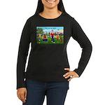 Joy of Golf 1 Women's Long Sleeve Dark T-Shirt