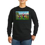 Joy of Golf 1 Long Sleeve Dark T-Shirt