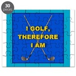 I golf, therefore I am Puzzle