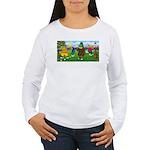 Golfing frogs Women's Long Sleeve T-Shirt