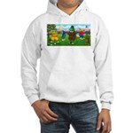 Golfing frogs Hooded Sweatshirt