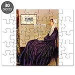 Mom's Hanukka Menorah Puzzle