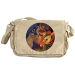 Angel3-Shetland Pony Messenger Bag