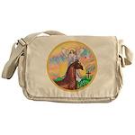 Blessings/Horse (Ar-Brn) Messenger Bag