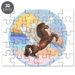 Clouds/Horse (Ar-Brn) Puzzle