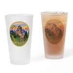 Mt Country/Horse (Ar-Br) Drinking Glass