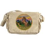 Mt Country/Horse (Ar-Br) Messenger Bag