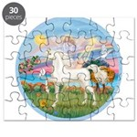 Angel/Horse (Ar-W) Puzzle