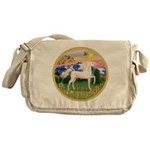 Mt Country/Horse (Ar-W) Messenger Bag