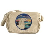Wave/Horse (Ar-W) Messenger Bag