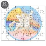 Clouds/Horse (Ar-W) Puzzle