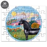 Angel/Horse (Ar-Blk) Puzzle
