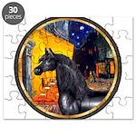 Cafe/Arabian horse (blk) Puzzle