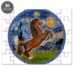 Starry/Arabian hoese (brn) Puzzle